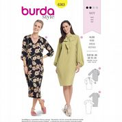 6363 Burda Pattern: Misses' Dresses